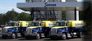 Surner Discount Oil delivery trucks